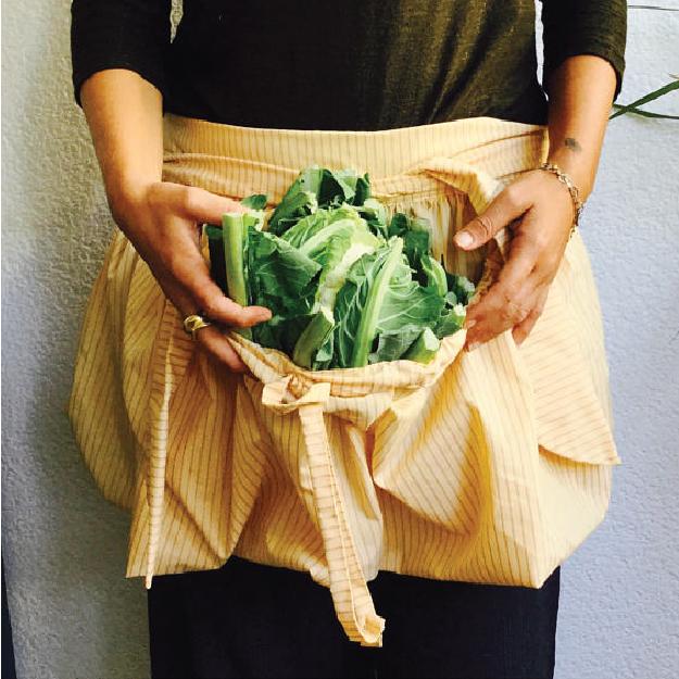Cangur-orto: il grembiule da orto