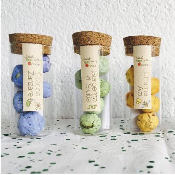 SeedBalls in barattolo
